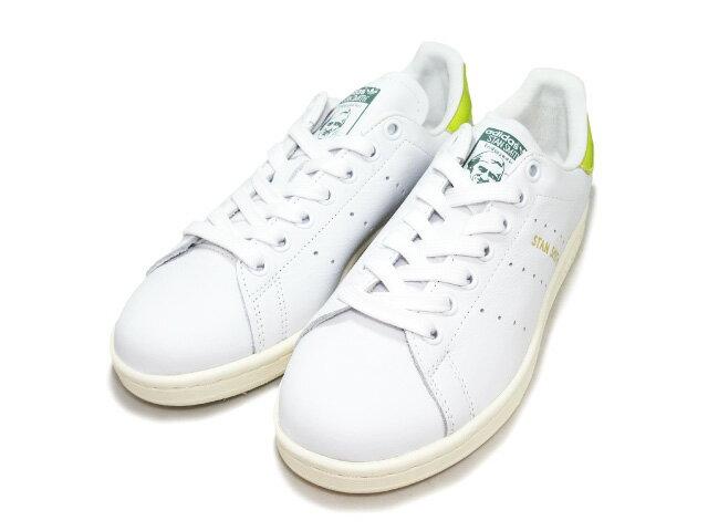 アディダス スタンスミス レディース ホワイト/イエロー adidas STAN SMITH BY9046 WHITE/YELLOW レディース スニーカー