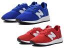 ニューバランス キッズ ジュニア 247 ブルー レッド 子供靴 スニーカー new balance KA247 CBP:BLUE CCP:RED
