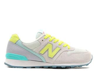 新平衡 996 灰色黄色妇女运动鞋新平衡 WR996 流行性乙型脑炎 newbalance WR996JE 灰色/黄色