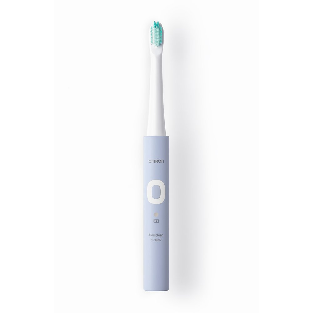 OMRON HT-B307-V メディクリーン ラベンダー [音波式電動歯ブラシ]