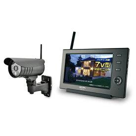 ELPA CMS-7110 [ワイヤレスカメラモニターセット]