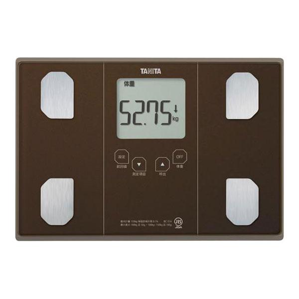 【送料無料】タニタ 体重計 BC-314-BR メタリックブラウン TANITA BC314 体組成計 体脂肪計 父の日 ギフト 贈り物 健康 ダイエット 測定 計測 肥満 予防 測定継続