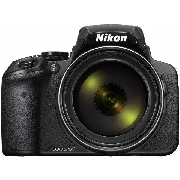 【送料無料】Nikon COOLPIX P900 ブラック [コンパクトデジタルカメラ (1605万画素)]
