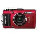 【送料無料】OLYMPUS TG-4-RED レッド STYLUS TG-4 Tough [コンパクトデジタルカメラ(1600万画素)]