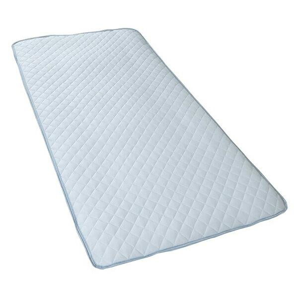 西川リビング 2230-00001 ひんやり敷きパッド シングル 100×205cm サックス