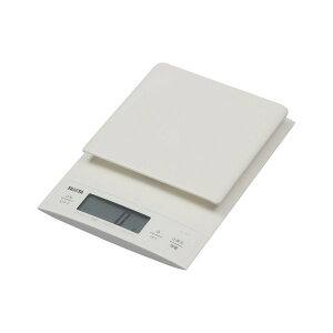 クッキングスケール はかり タニタ KD-320-WH ホワイト TANITA KD320 デジタル キッチンスケール 量り お菓子作り パン作り mLモード(水や牛乳も量れる) 微量モード 0.1g単位 (0〜300g)