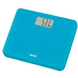 TANITA タニタ HD660-BL 体重計 青 デジタルヘルスメーター ブルー 薄型 軽い 軽量 B5サイズ シンプル 乗るだけで スイッチオン 体重 健康 測定 計測 肥満 予防 健康管理 ダイエット HD660