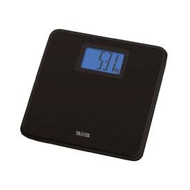 TANITA タニタ HD-662-BK 体重計 黒 デジタルヘルスメーター ブラック 薄型 軽い 軽量 文字 大きい バックライト付 見やすい シンプル 体重 健康 測定 計測 肥満 予防 健康管理 ダイエット HD662