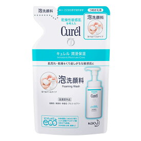 花王 キュレル 泡洗顔料詰替用 130ml