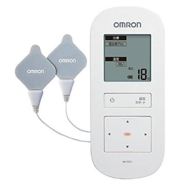 【送料無料】OMRON HV-F311 ホワイト [温熱低周波治療器]