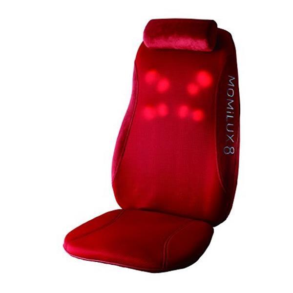 【送料無料】ドウシシャ DMS-1501RD RED MOMiLUX8 [シートマッサージャー]