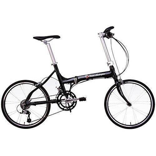 【送料無料】ランボルギーニ TL2005 ブラック [折りたたみ自転車(20インチ・18段変速・フレーム400mm)]【同梱配送不可】【代引き不可】【本州以外の配送不可】