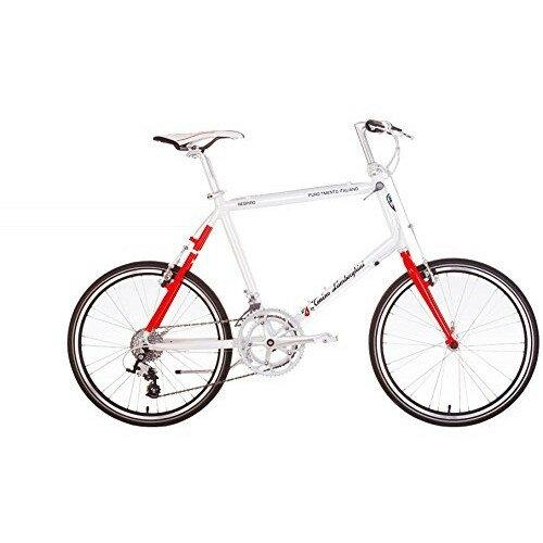 【送料無料】ランボルギーニ TL2011-A ホワイト/レッド [ロードバイク(20インチ・18段変速・フレーム485mm)]【同梱配送不可】【代引き不可】【本州以外の配送不可】