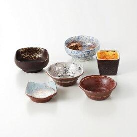 西日本陶器 TC08-06金彩型変り 六客小付揃 メーカー直送