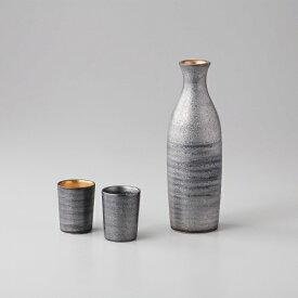西日本陶器 TC03-02プラチナ塗り(金) 2合半酒器揃 メーカー直送