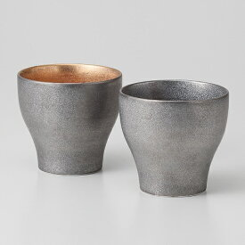 西日本陶器 TC04-09プラチナ塗り ペア新型カップ メーカー直送