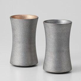 西日本陶器 TC04-12プラチナ塗り ペア杵型ビアカップ メーカー直送