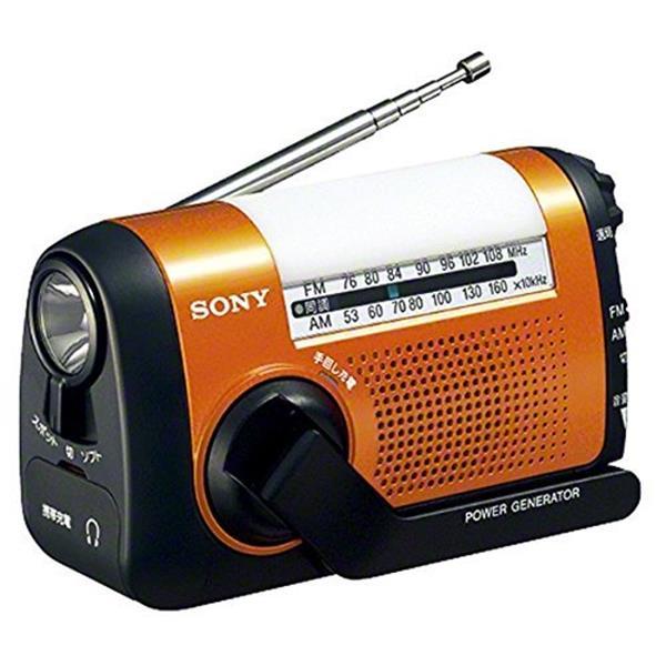 【送料無料】SONY ICF-B09 (D) オレンジ [FM/AMポータブルラジオ]