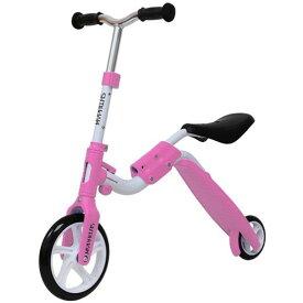 【送料無料】マイパラス MY-2in1-PK ピンク [子供用バイクキックボード] 【同梱配送不可】【代引き・後払い決済不可】【沖縄・離島配送不可】
