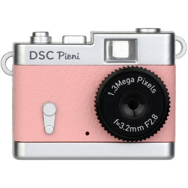 ケンコー DSC-PIENI CP コーラルピンク トイカメラ DSC-Pieni [小型トイデジタルカメラ]