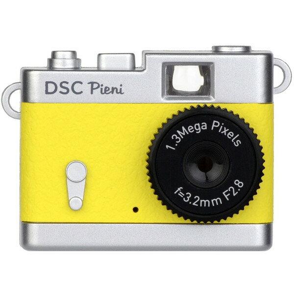 ケンコー DSC-PIENI LY レモンイエロー トイカメラ DSC-Pieni [小型トイデジタルカメラ]