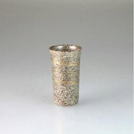 西日本陶器 雅刷毛(金)一口ビアカップ(マス付) メーカー直送