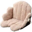 ホットクッション 座布団 ひざ掛け 座椅子 あったか腰周りクッション 腰 背中 椙山紡織 スギボー SB-KC40-TC ベージュ…