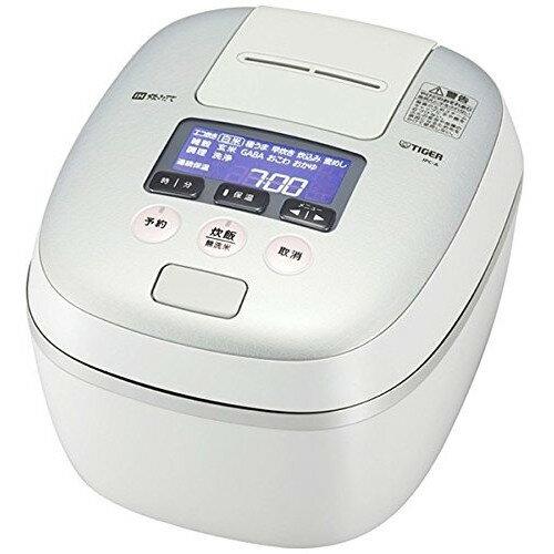 【送料無料】TIGER JPC-A100-WH ホワイトグレー 炊きたて [圧力IH炊飯ジャー (5.5合炊き)]