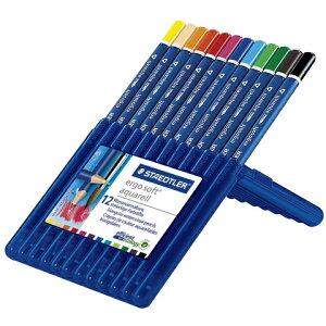 エルゴソフト アクェレル 水彩色鉛筆 12色セット 156 SB12