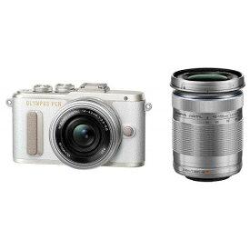 OLYMPUS PEN E-PL8 EZダブルズームキット ホワイト [デジタル一眼カメラ (1605万画素)]