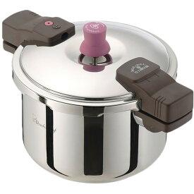 【送料無料】圧力鍋 ワンダーシェフ 5.5l IH対応 鍋 両手 高圧 あなたと私の魔法鍋 ZADA55 5.5L ガス ih 両手圧力鍋 レシピ本 時短調理 安心 安全 焦げ付きにくい