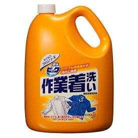 花王プロフェッショナル 液体ビック 作業着洗い 4.5kg