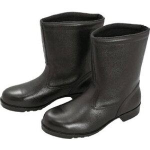 ミドリ安全 V2400N-23.5 ブラック [ゴム底安全靴 (半長靴・23.5cm)]