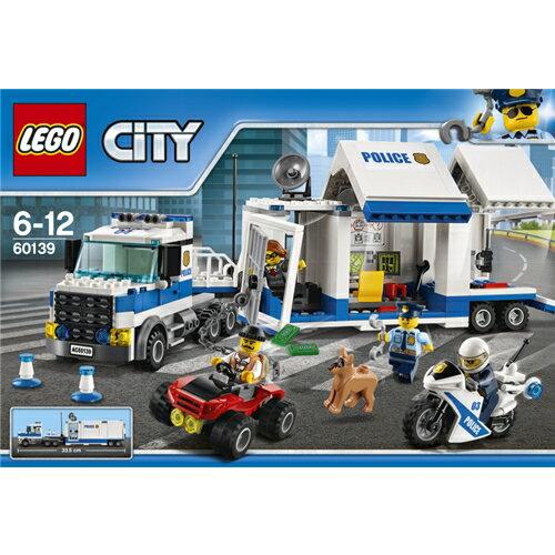 【送料無料】LEGO LEGO 60139 シティ ポリストラック司令本部