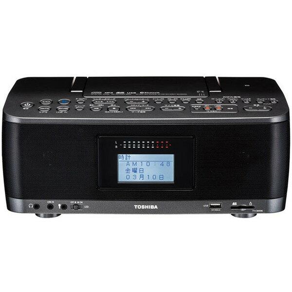 【送料無料】 ラジカセ CDプレーヤー CDラジオ 東芝 TY-CWX90(KM)  スピーカー 高音質 ラジオ 録音 予約 Bluetooth スマホ SD USB NFC搭載ワイドFM  リモコン付き マイク端子付き 語学学習 音楽 コンパクト レジューム機能 タイマー TOSHIBA