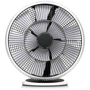 卓上扇風機 グリーンファン サーキュレーター おしゃれ シンプル DCモーター BALMUDA バルミューダ EGF-3300-WK GreenFan Cirq 扇風機 オフィス リビング インテリア そよ風