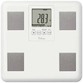 タニタ体重計 FS-400-WH ホワイト FitScan 体組成計 TANITA FS400 プレゼントにおすすめ ヘルスメーター 健康管理 ダイエット BMI 内臓脂肪 手軽 新生活