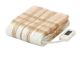 電気毛布 敷毛布 洗える 快眠 椙山紡織 スギボー SB-S102 電気敷毛布 丸洗い 140×80cm 頭寒足熱 防ダニ あったかい おしゃれ