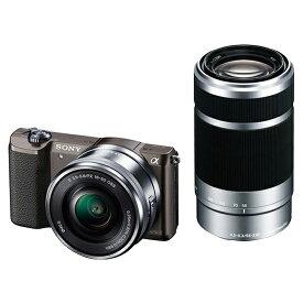 SONY ILCE-5100Y ダブルズームレンズキット ブラック [デジタル一眼カメラ (2430万画素)]