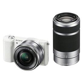 SONY ILCE-5100Y ダブルズームレンズキット ホワイト [デジタル一眼カメラ (2430万画素)]