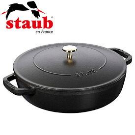 ストウブ RSTD601 ブラック [ブレイザー・ソテーパン (24cm)]