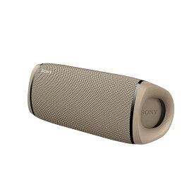 ソニー SONY ワイヤレスポータブルスピーカー SRS-XB43-CC ベージュ Bluetooth対応 防水 防塵 高音質 重低音 風呂 キッチン アウトドア ロングバッテリー ワイヤレススピーカー 防水スピーカー マルチレイアウト
