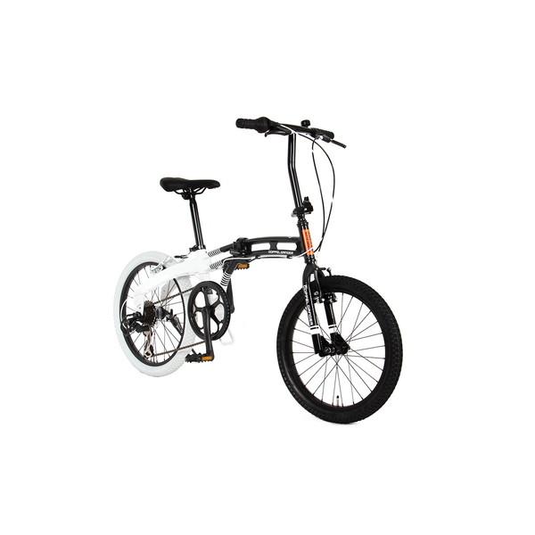 【送料無料】DOPPELGANGER 202-BK ブラックマックスシリーズ [折りたたみ自転車]【同梱配送不可】【代引き不可】【沖縄・北海道・離島配送不可】