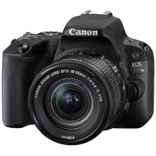 CANONEOSKissX9EF-S18-55ISSTMレンズキットブラック[デジタル一眼カメラ(2420万画素)]