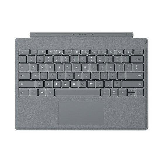 【送料無料】マイクロソフト FFP-00019 プラチナ Surface Pro Signature [キーボード付きカバー(Surface Pro / Surface Pro 4 / Surface Pro 3用)]