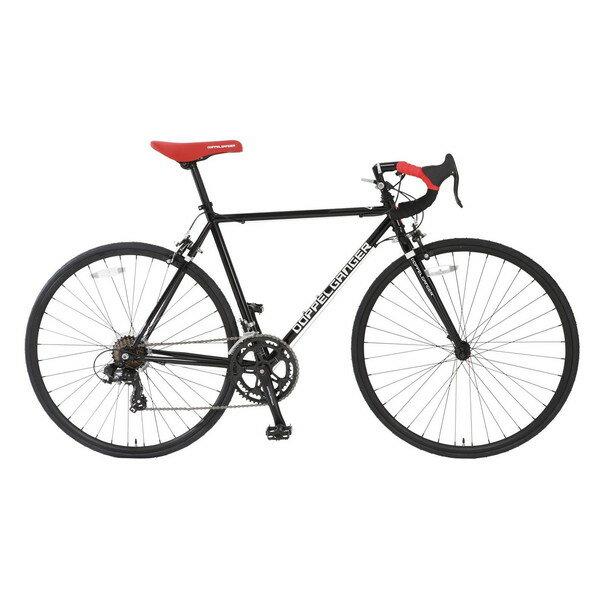 【送料無料】DOPPELGANGER 425-BK ブラック LIBEROシリーズ obelisk [ロードバイク(25インチ・14段変速)]【同梱配送不可】【代引き不可】【沖縄・北海道・離島配送不可】