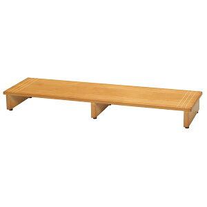 玄関台 幅120 踏み台 木製 ステップ 収納 足場 完成品 高さ調節 おしゃれ 永井興産 NK-1235