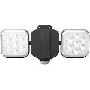 ムサシ LED-AC2016 RITEX [フリーアーム式LEDセンサーライト 8W×2灯]