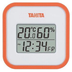 TANITA TT-558-OR オレンジ [デジタル温湿度計] タニタ 温度計 湿度計 部屋 室内 温度調節 熱中症対策