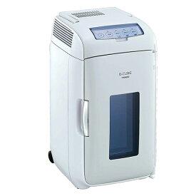 ツインバード TWINBIRD HR-DB07GY グレー 2電源式コンパクト電子保冷保温ボックス 冷温庫 温冷庫 13L 静音 小型 保冷庫 保温庫 AC100V/DC12V対応 車載 アウトドア 寝室 ペルチェ式
